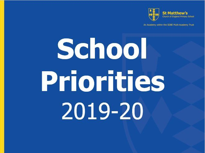 School priorities 2019 20