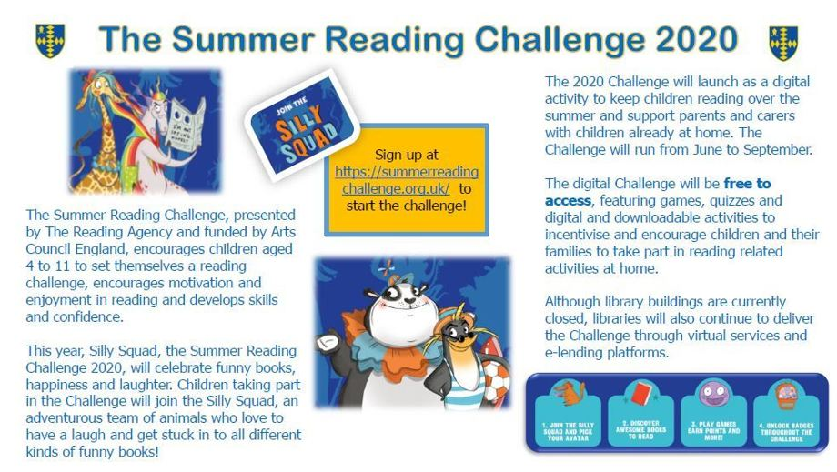 The Summer Reading Challenge