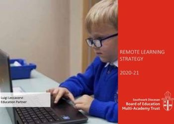 MAT Remote Learning Strategy image